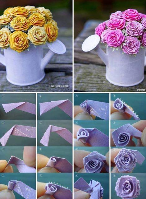 Pretty Diy Paper Flower Pot By Katherine Maiolo Musely