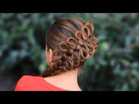 Diagonal bow braid !!!