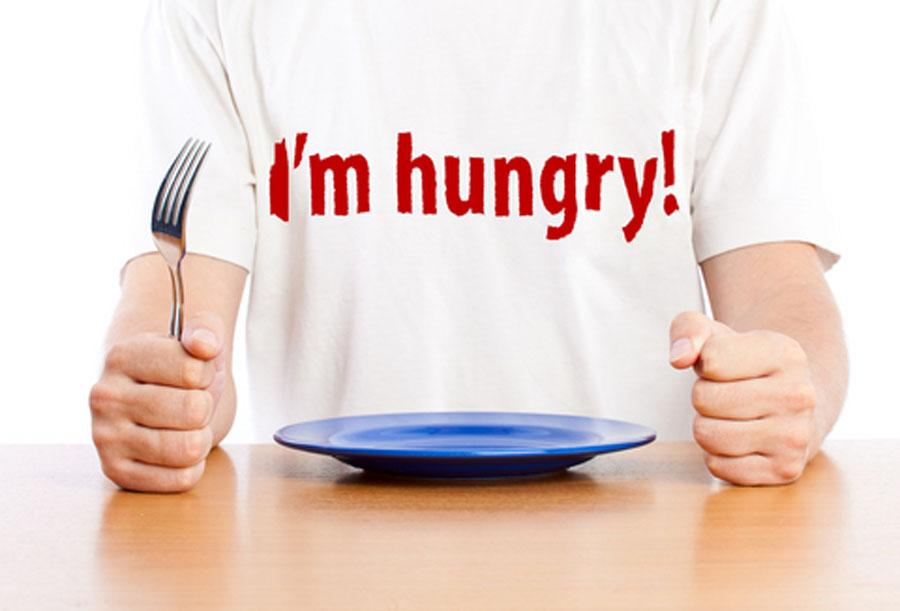 DON'T GO HUNGRY TOO LONG  Little hunger can be good but starving yourself all day is unhealthy and diet damage. You must eat well-timed meals and snacks to avoid low blood sugar levels.