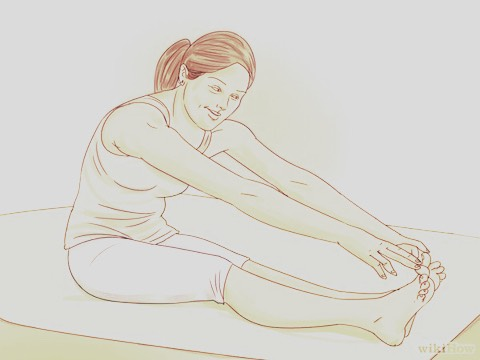 TOUCH YOUR TOES. Touch your toes-from both a seated and standing position-helps to stretch out your hamstrings and your lower back.