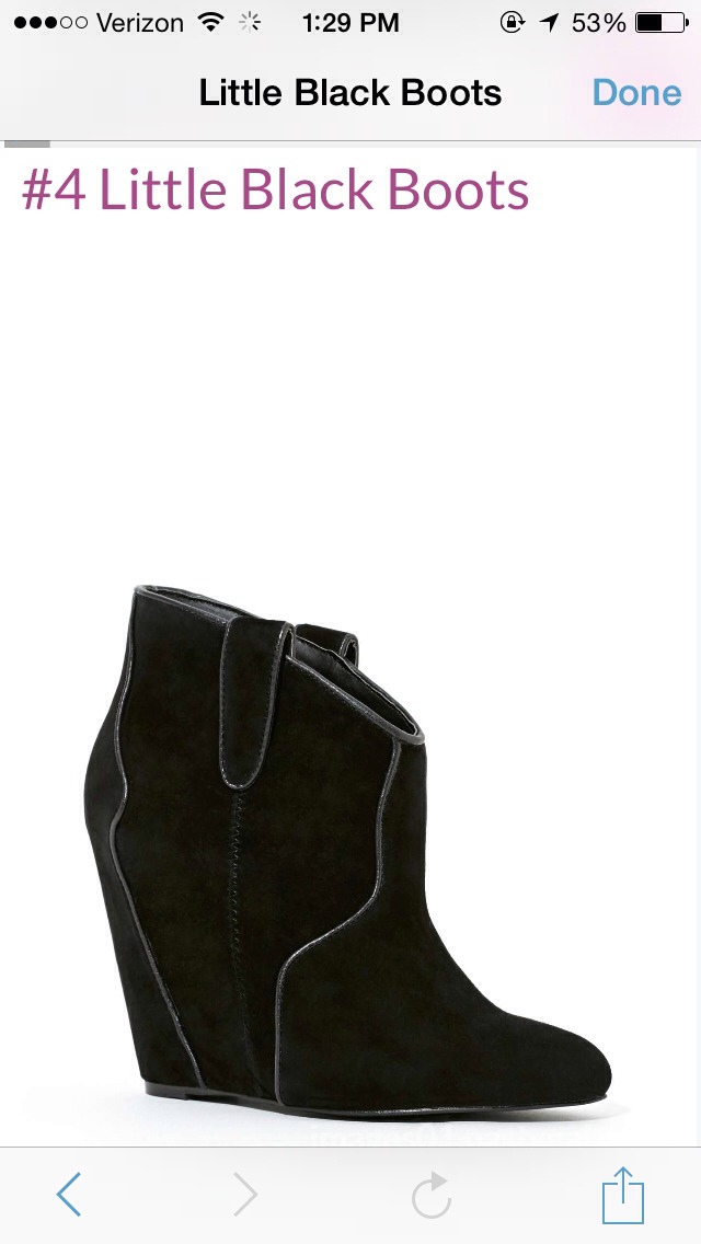 Little Black Boots