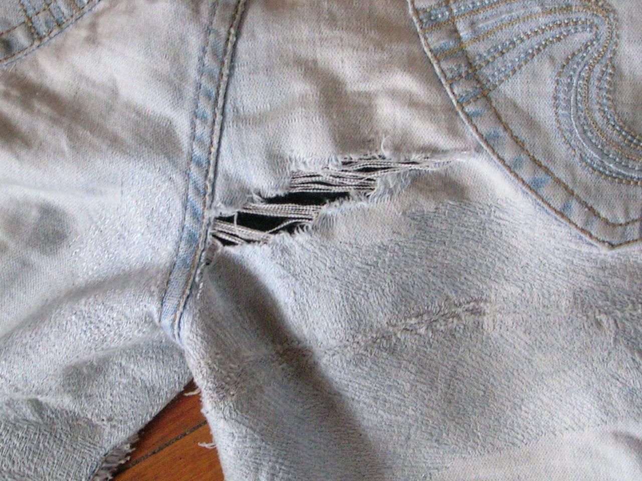 Uhh. Are your clothes ripping in the washer or dryer? Bet you didn't think of this super simple fix. Close all zippers and clasps and turn clothing inside out before tossing your dirty clothes in the laundry. This one change can make a huge difference in the preservation of your precious clothing!