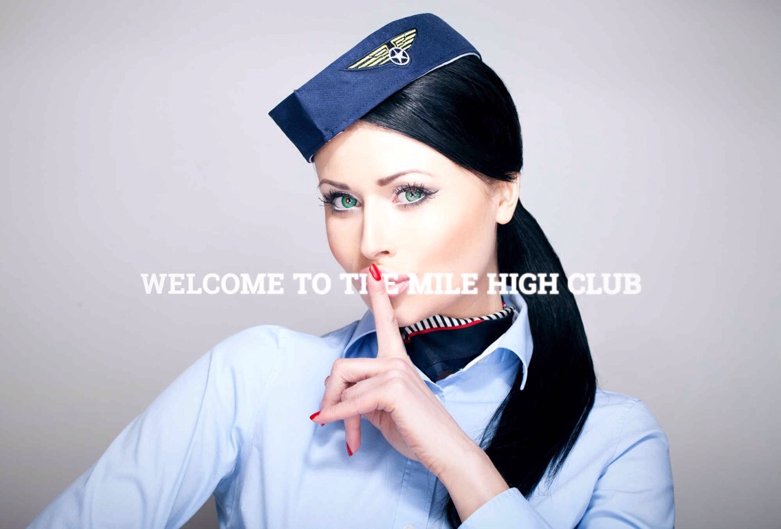 ON A PLANE | Joinig the mile high clubjust got a little easier. A new company located in Las Vegas calledLove Cloudoffers couples the chance to do the no-pants dance while flying in a private plane above the Las Vegas strip, the Hoover Dam, + Lake Meade.