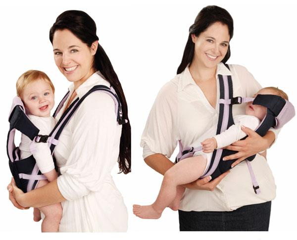 Tip #2.  Bring one of these baby carriers, so you can free up your hands for carrying luggage. This baby carrier option is much better than taking a stroller.