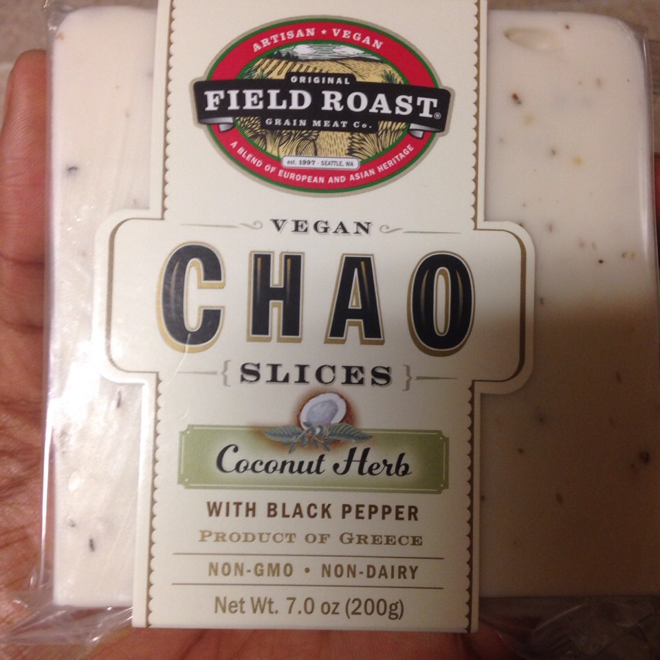 Grab some Vegan cheese.  This one is my fav but anyone will do.