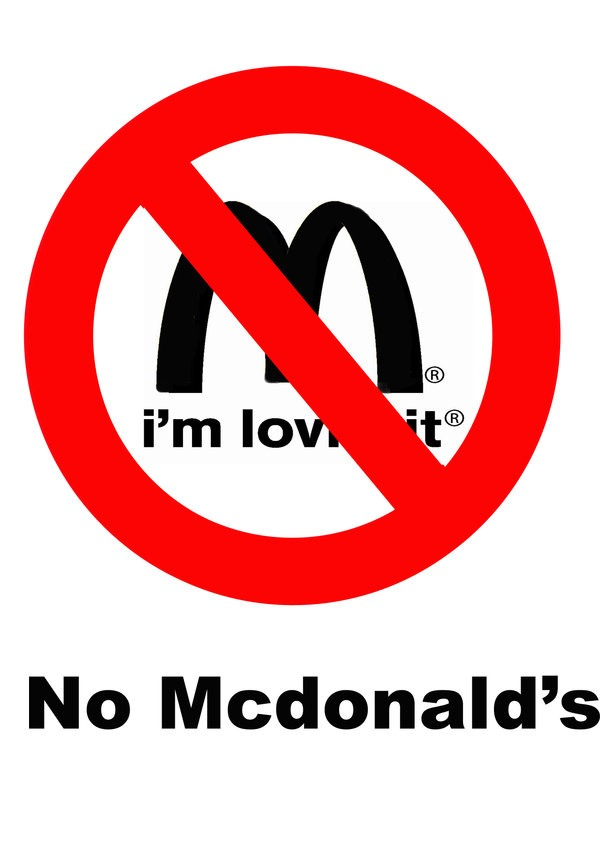 First of all... Everyone knows mcdonalds is bad... But yet everyone still buys it. Aka supports it and it needs to stop. Its simple as DONT GO THERE.