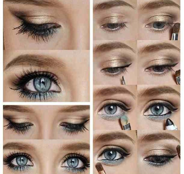 Cute Eye Makeup For Blue Eyes Piccollage By Ellie