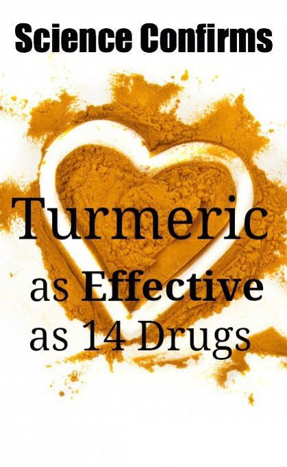 Eating turmeric daily is beneficial for overall health as it cleans out your system and keeps your organs healthy.