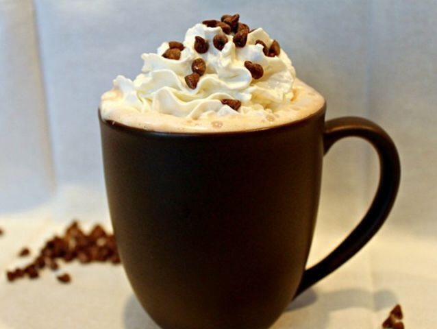 11. Cookie Dough Hot Chocolate