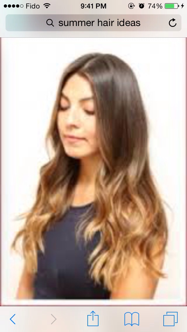 And lastly ombré is a huge trend right now!