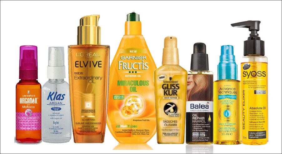 Argan oil is a great source to getting your hair have that shine that stands out. It doesn't just make your hair look amazing but it also makes it healthier, softer and easier to handle. As you can see there is a lot of brands to choose from,any of these will do. :)