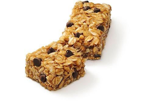 Instant oats granola bars (90 calories)