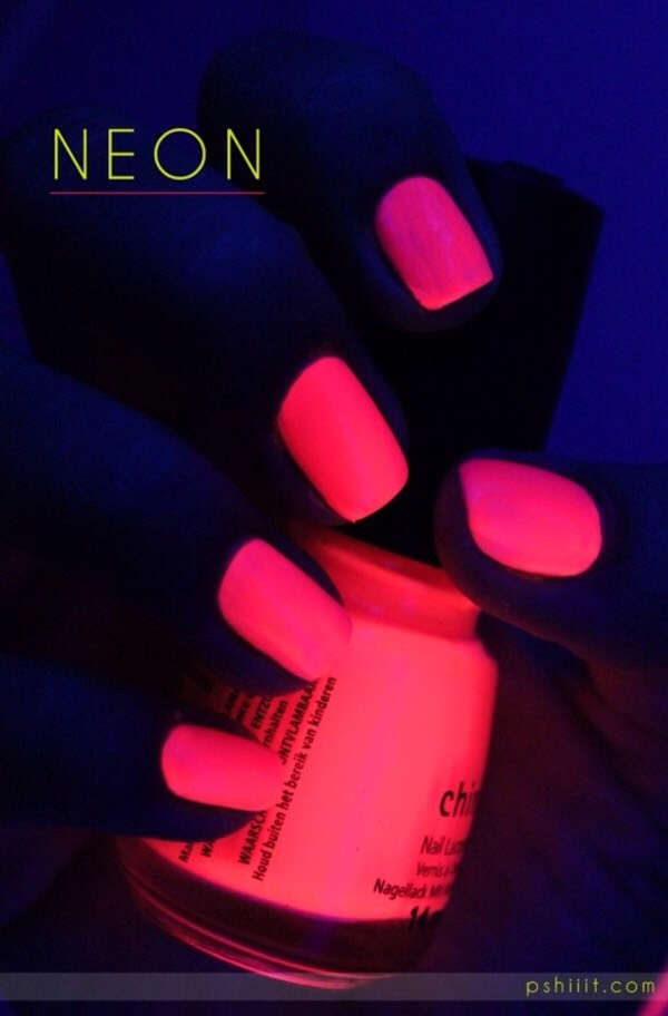 First get regular clear nail polish!
