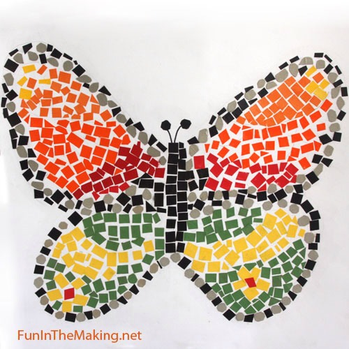 Into mosaics. Maybe kids can help too.