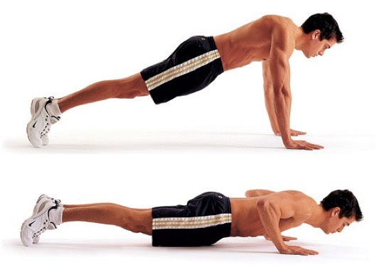 30 push-ups