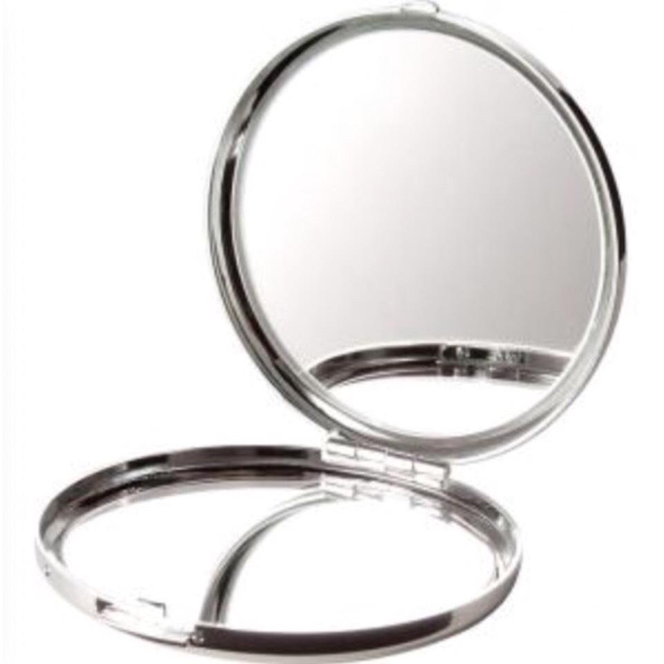 A compact mirror:  If your touching up your makeup it comes in handy or you may just want to check your hair &/or makeup...