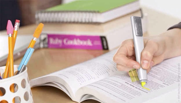 7. A highlighter that fades in six months.