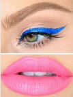 Blue Wing + Pink Lip