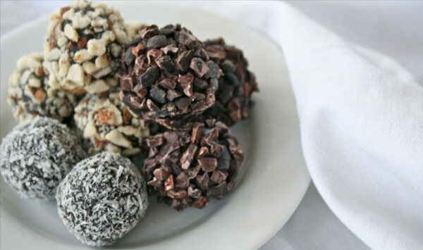 Raw Organic Truffles by Living Raw ❤