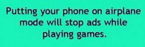 Put your phone in airplane mode and it will stop all the ads from popping up in the middle of your game.