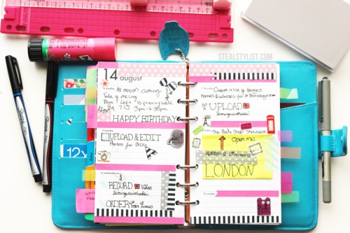 have a planner. use a planner to keep track of your academic and social events. this helps you make sure you're on top of your game
