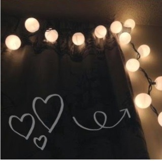 Just Cut A Small X In A Ping Pong Ball And Stick On Christmas Lights. Great  Room Decorations Or A New Twist On Christmas!
