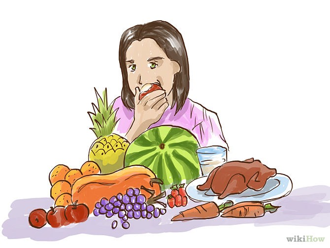 Eat fruits and veggies. The extra vitamins are transferred to follicles helping it grow