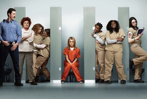 Orange is the new black, I haven't watched it I will soon tho have heard very good thing👍🏽
