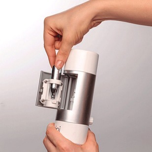3. Fizzini, the Hand-Held Water Carbonator, $60  Less cumbersome than a Sodastream.
