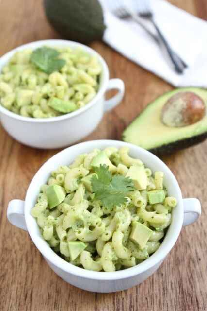 Avocado Mac and cheese! http://www.twopeasandtheirpod.com/stovetop-avocado-mac-and-cheese/#_a5y_p=1297658