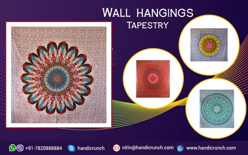 Urban Wall Tapestry at Handicrunch