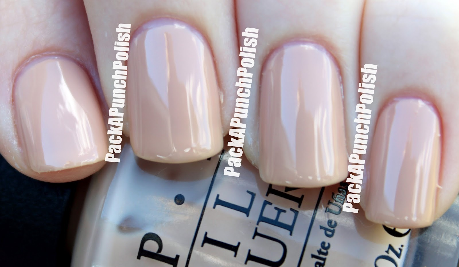 Instead Of Sheer Pink Try Opaque Beige Opi Nail Lacquer In Samoan Sand