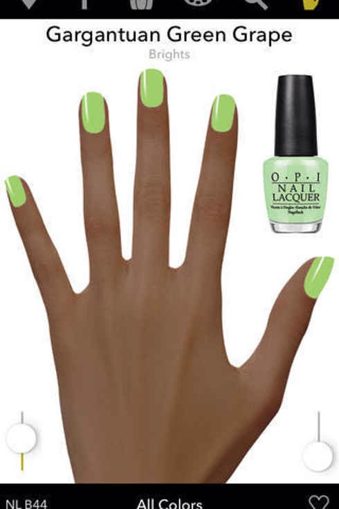 6. OPI is a digital try-it-on studio so you can try all the new colors (without having to sneak at the drugstore).