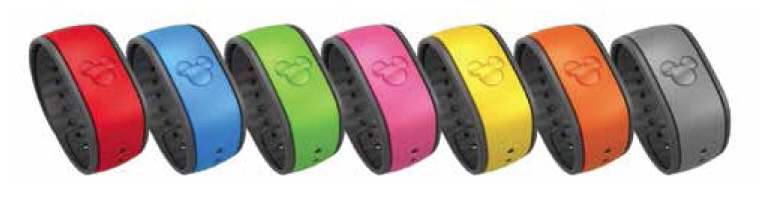 Instead of using physical tickets, all of your Fastpasses are saved on your Magicband. Magicbands also give you access to the parks and your hotel room