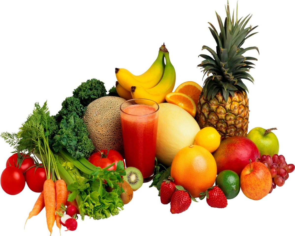 Eat your everyday 5 a day fruit and vegetables this will give you your nutrients.