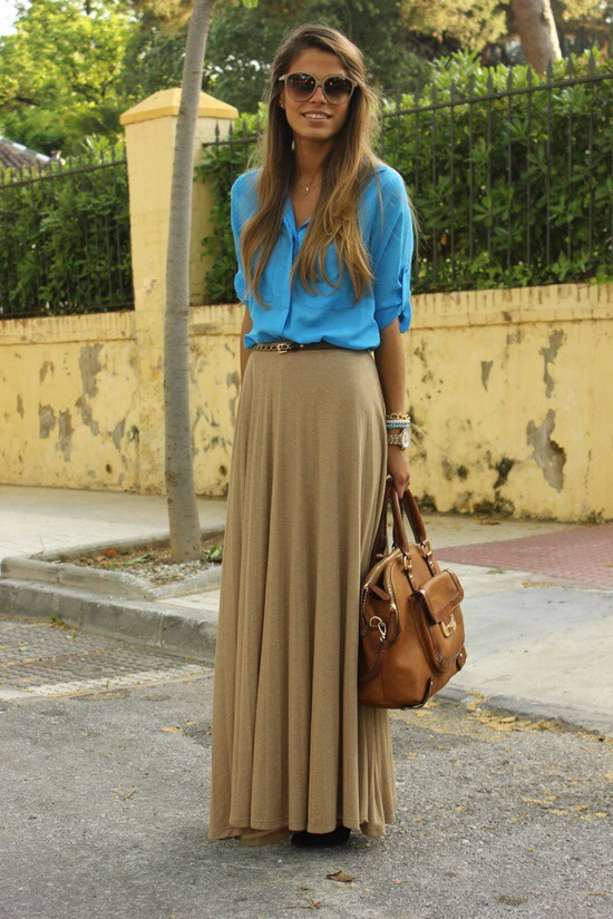 Maxi Skirts!! (Chic, a good cover up, and totally comfortable)