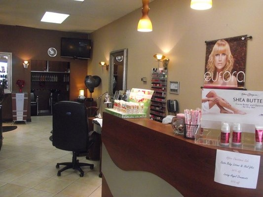 SERVICES: Hair, Cuts, Styles, Color, Nails, Permanent Makeup, Airbrush Makeup, Merchandise   Tap repeatedly on picture/screen for better viewing. Swipe to the Left for next page, Stretch size with fingers, slide photo up or down. Click Done to return.