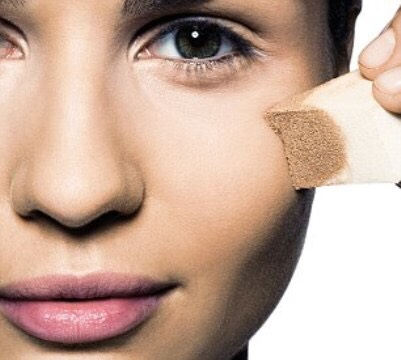 NUMBER 4: applying foundation with a sponge or your fingers. 😞