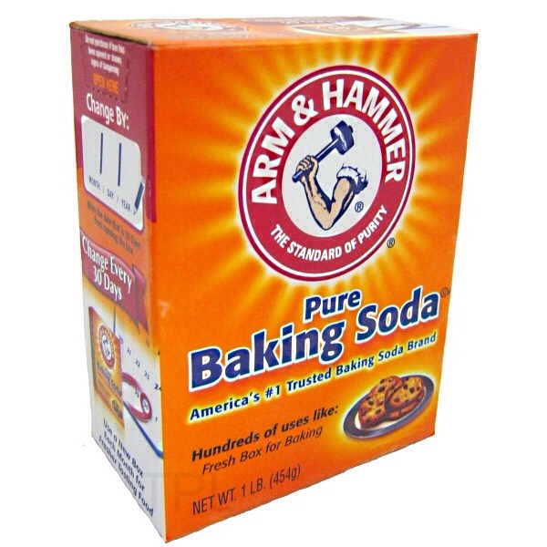 1/2 a cup of baking soda