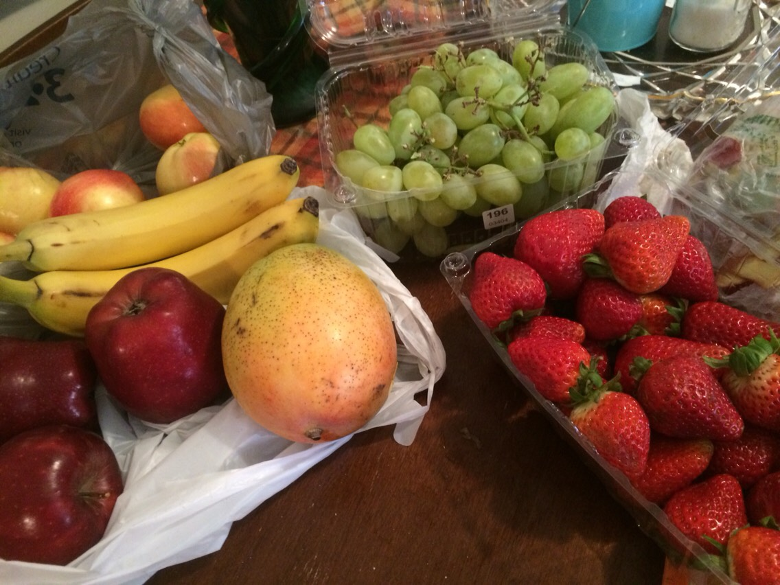 Picar la Fruta a Su gusto!