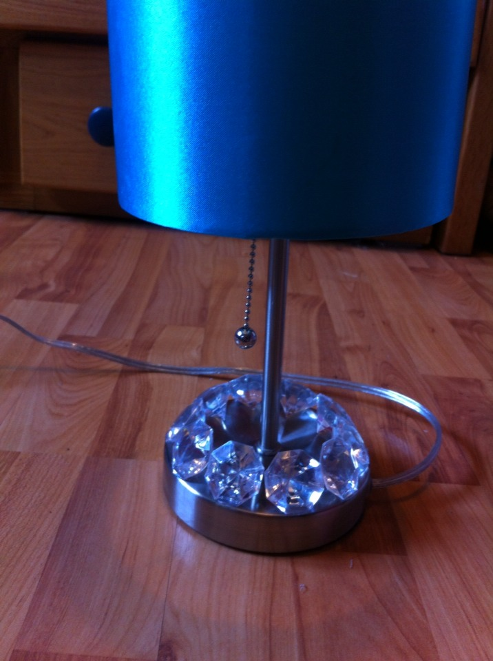 Now you have a new looking lamp. :D
