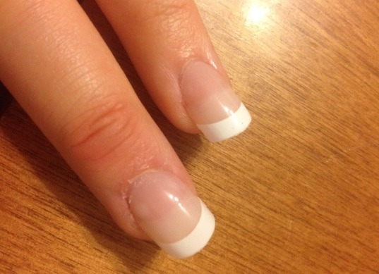 *optional* Apply fake nails.