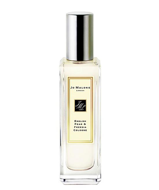 4) Jo Malone London English Pear & Freesia Cologne, $60; nordstrom.com  User reviews have landed Jo Malone's super crisp fragrance on the top five list. The scent, inspired by a walk in an orchard, has notes of pear, freesia, and patchouli.