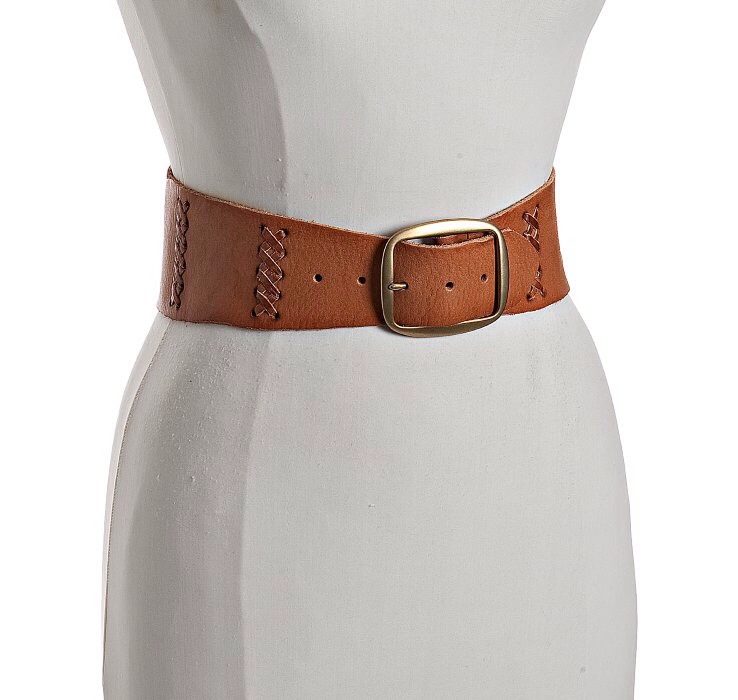 A wide belt can help accentuate your waist/curves and can make a great outfit look even greater.