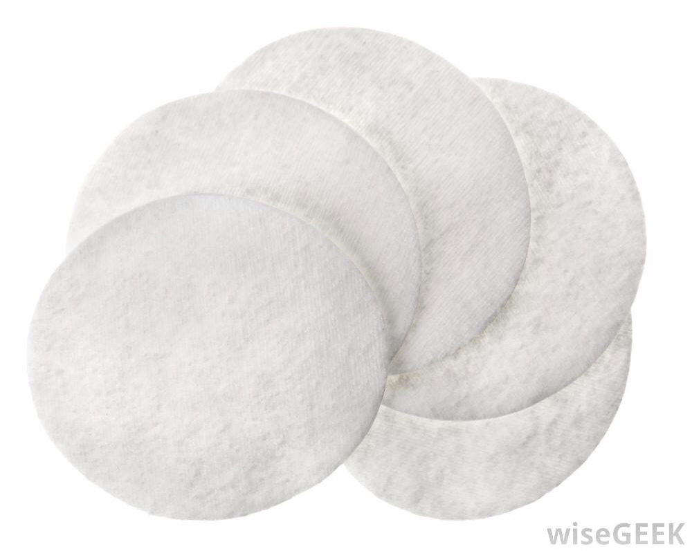 You can buy makeup pads like this from any drug store or Walmart (beauty isle). You could also use cotton wool but I find the pads work better!