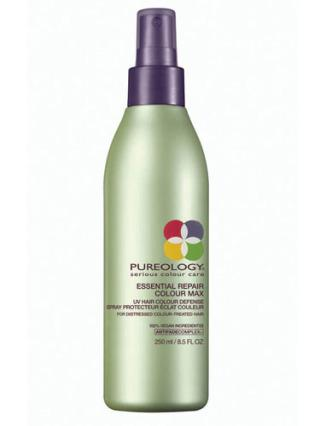 Just like skin, our hair too can suffer from UV ray damage. To keep your red hair from fading while in the sun, this product is a must.  (Pureology Essential Repair Colourmax UV Hair Colour Defense, $19.79, Sleekhair.com)
