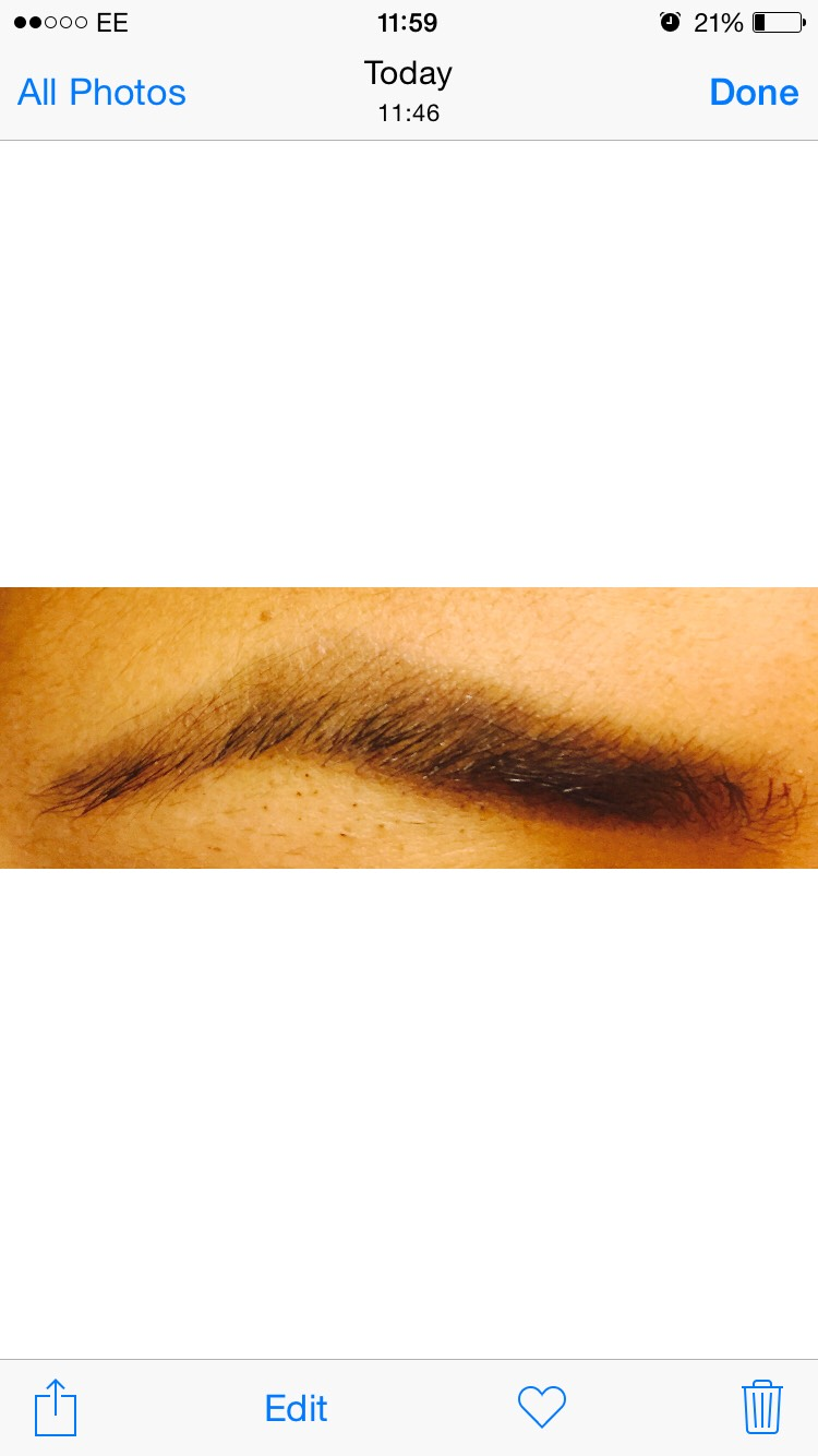 1. fill up these eyebrows with a eyebrow pencil, leave it at the front so it looks natural at the end..it hasnt to be perfect
