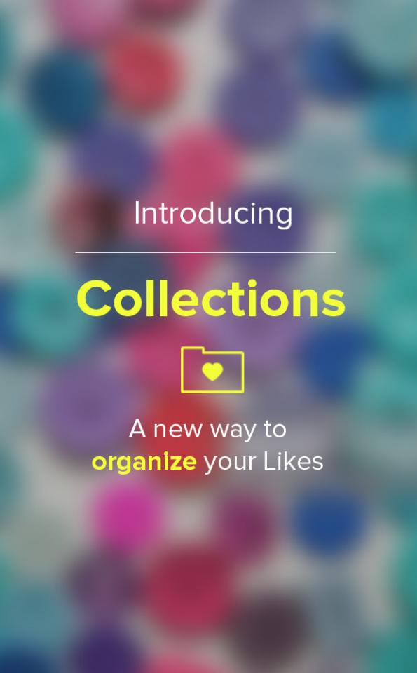 Many of you asked for a better way to save your Likes. Now, you can organize your liked tips into personal collections! Swipe to check it out. >>
