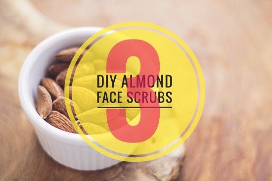 Check out these 3 simple, cheap + quick almondface scrubs!