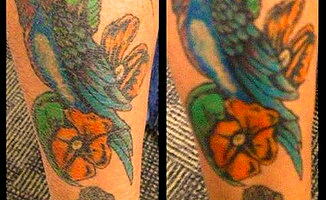 Brightens out your tattoos naturally
